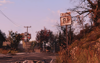 FO76 Road sign 81