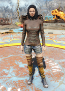 Fo4 Ripped Shirt and Socks female