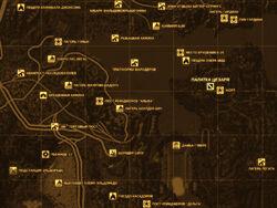 FNV Карта ПАЛАТКА ЦЕЗАРЯ
