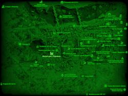 FO4 Жилой дом «Парквью» (карта мира)