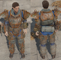 FO4 Heavy metal armor general view