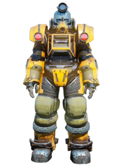 FO76 Excavator power armor