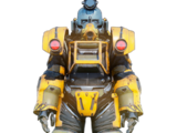Excavator power armor