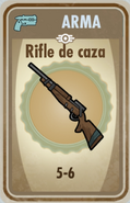 FOS Rifle de caza carta