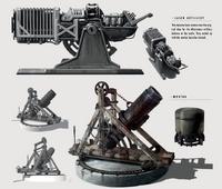 Fo4 Artillery concept art