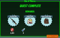 FoS Den of Thieves rewards
