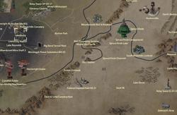 Lewisburg map