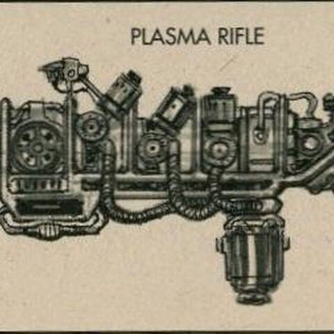 <i>Fallout 3</i> plasma rifle concept art