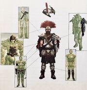 FNV Collectors Edition Legion armor