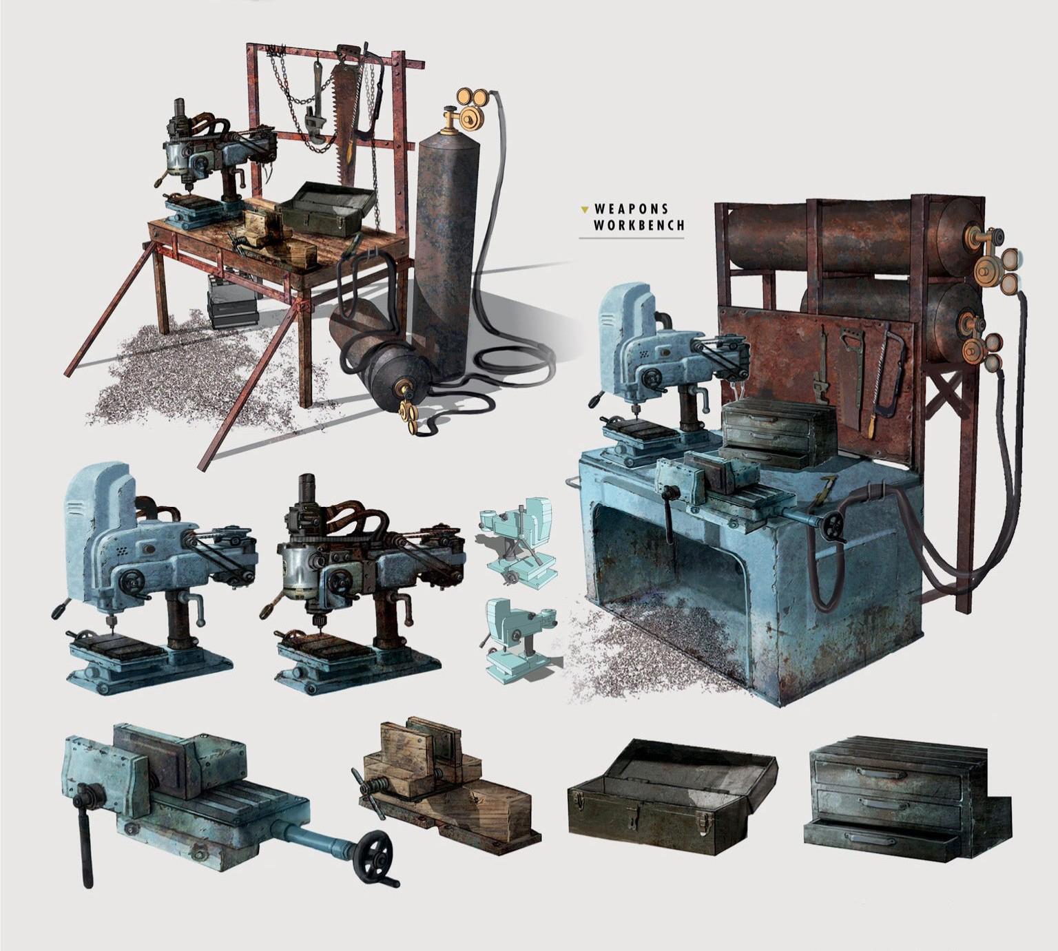 FO4 Art Weapons Workbench