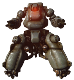 FO4 Sentry bot