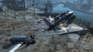FO4 Vertibird of Coast Guard
