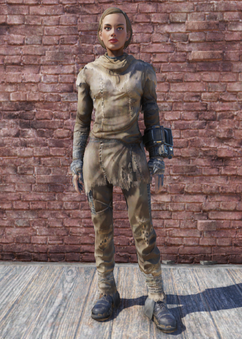 FO76 Radstag Hide Outfit
