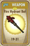 FoS Fire Hydrant Bat Card