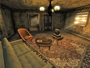 Goodsprings home interior