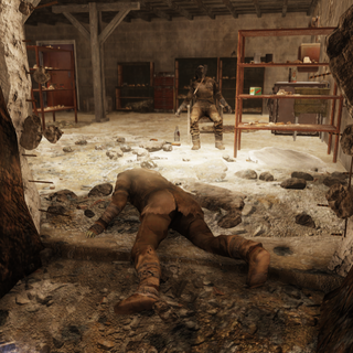 Settler corpses at Greg's Mine Supply