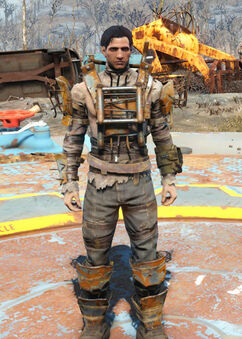 Standard Raider Armor Fallout 4