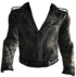 TS leather jacket front