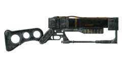AER9 laser rifle