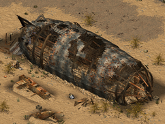 Crashed Airship