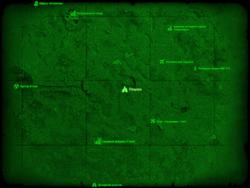FO4 Пещера (Супермаркет) (карта мира)
