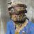 FO4 Холщовый капюшон с ремешками