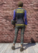 FO76 VTU Jacket and Jeans Back