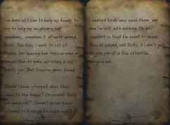 Fo76 Caleb's note