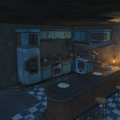 Kitchen on the first floor