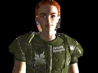 Reilly in battle armor