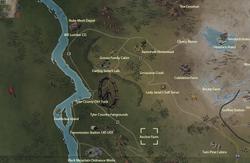 Anchor Farm map