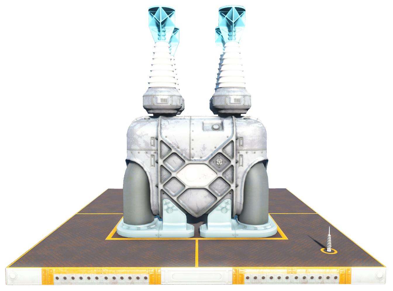 Generator Fallout 4 Wiki Fandom Powered By Wikia Wiring Vault 88 Fo4vw Tec Reactor