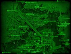 FO4 Заброшенный дом (карта мира)
