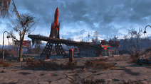 FO4 Relais routier Red Rocket