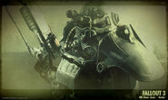 Fallout 3 power armor concept art