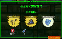 FoS Mission of Mercy rewards