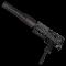 Rheinmetall 9mm machine pistol suppressor and extended magazine mods inventory