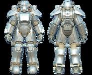FO4CC T-45 power armor chrome