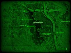 FO4 Озеро Кочитуате (карта мира)