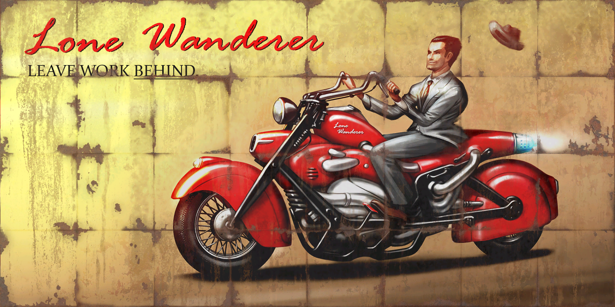 FO4 Billboards Lone Wanderer