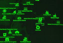 FO4 map Nahant Wharf