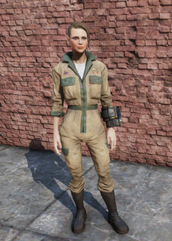 FO76 Park Ranger Jumpsuit Female