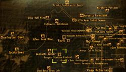 Ranger Station Foxtrot loc