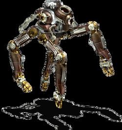 Security robot render