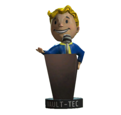 Speech-bobblehead