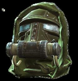 Assault gas mask