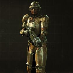 FO4 Combat armor at loading screens