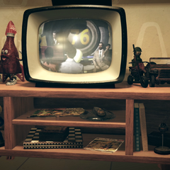 Працюючий телевізор