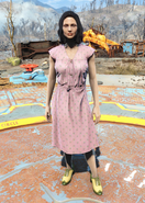 Fo4Laundered pink dress
