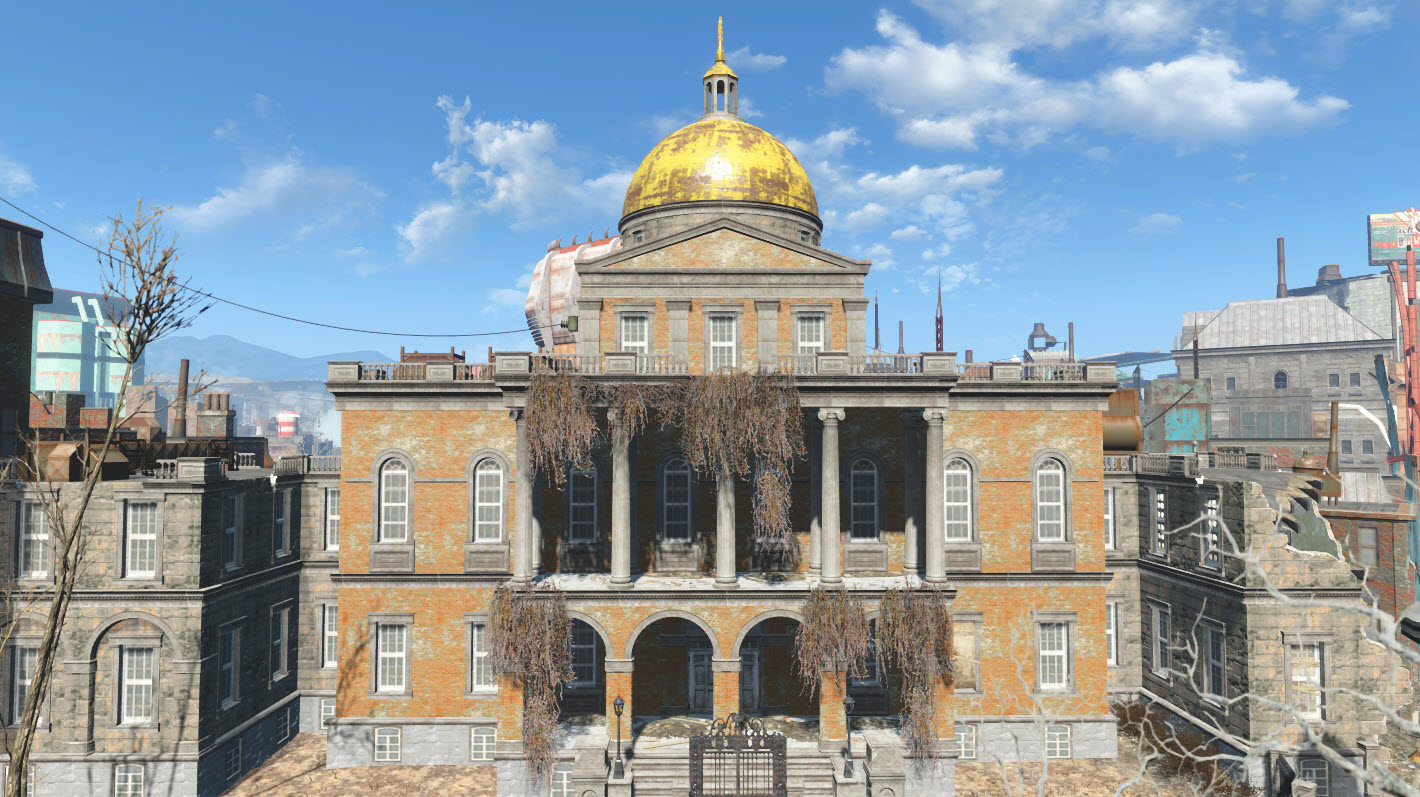 Massachusetts state house fallout wiki fandom powered for Building a house in ma